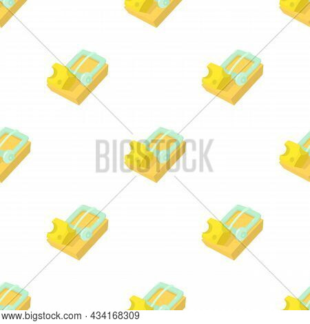 Mousetrap Pattern Seamless Background Texture Repeat Wallpaper Geometric Vector