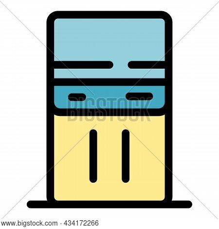 Duct Tape Icon. Outline Duct Tape Vector Icon Color Flat Isolated