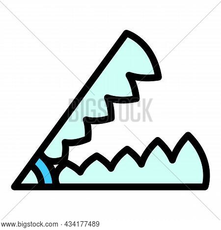 Nature Animal Trap Icon. Outline Nature Animal Trap Vector Icon Color Flat Isolated