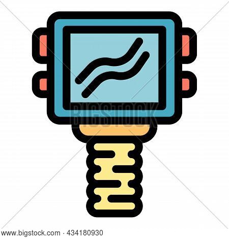 Thermal Imager Device Icon. Outline Thermal Imager Device Vector Icon Color Flat Isolated