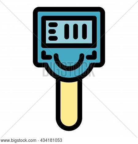 Tool Thermal Imager Icon. Outline Tool Thermal Imager Vector Icon Color Flat Isolated