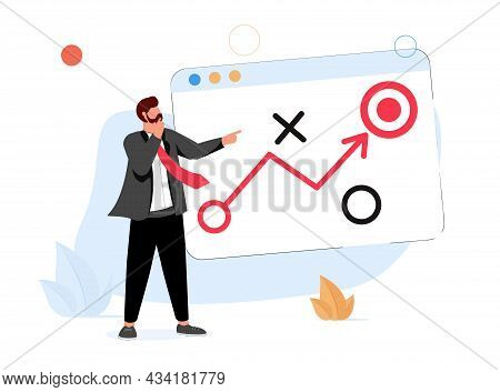 Business Strategy Planning, Marketing Tactic To Achieve Target, Project Blocker And Solution To Win