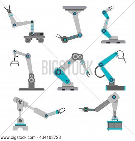 Industry Robot For Pack Product, Ai Electronics Arm Industrial Automated, Robotic Conveyor, Robot Ar