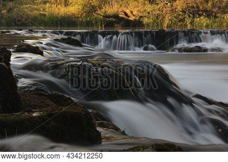 Waterfalls On The Dobra River In Croatia
