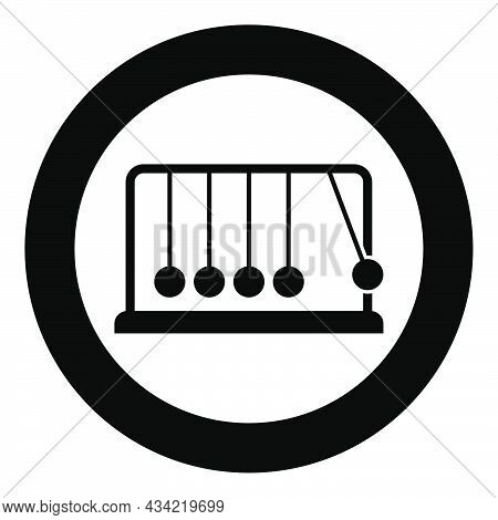 Cradle Newton Metal Metronome Newton's Balance Equipment Relax Motion Balancing Balls Pendulum Icon