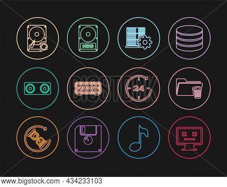 Set Line Dead Monitor, Delete Folder, Server Setting, Retro Flip Clock, Stereo Speaker, Hard Disk Dr