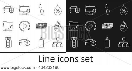 Set Line Hierarchy Organogram Chart, Wine Bottle With Glass, Video Play Button, Ftp Folder Upload, C