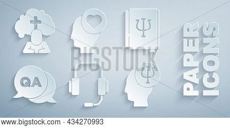 Set Psychologist Online, Psychology Book, Psi, Question And Answer, Psychology, , Broken Heart Or Di