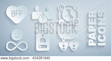 Set Incoming Call On Mobile, International Community, Friends Forever, Necklace With Heart Shaped, C