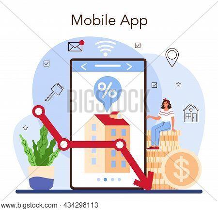 Real Estate Industry Online Service Or Platform. Low Comission