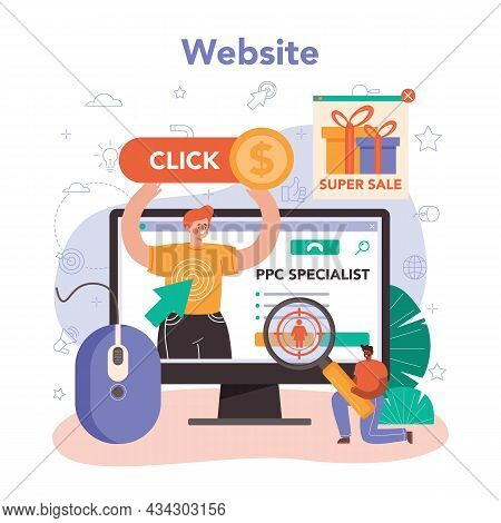 Ppc Specialist Online Service Or Platform. Pay Per Click Manager
