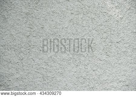 Close-up Grunge Gray Concrete Wall Texture Background, Cement Walls Are Decorated With Plastering Te