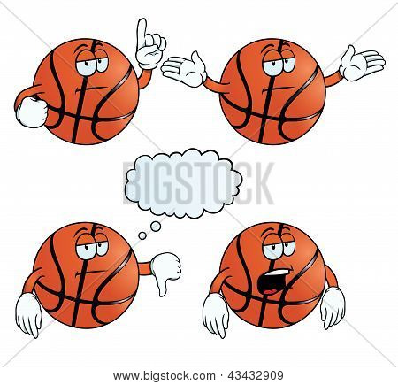 Bored basketball set