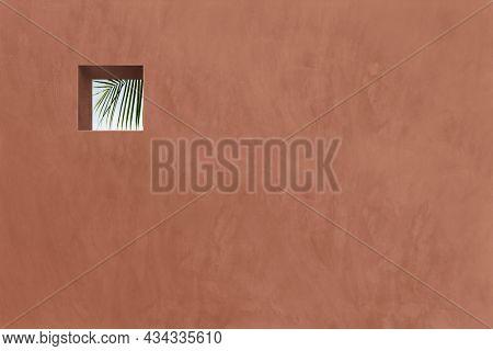 Terracotta Mediterranean outdoor wall design
