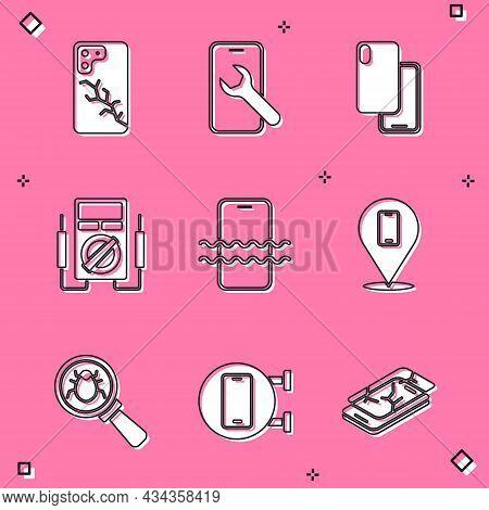Set Mobile With Broken Screen, Service, Smartphone, Multimeter, Waterproof, Phone Repair, System Bug