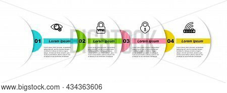 Set Line Invisible Or Hide, Lock Vpn, Castle In The Shape Of Heart And Wifi Locked. Business Infogra