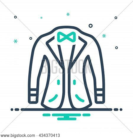 Mix Icon For Coat Fabric Garments Wear Attire Jacket Coating Fashionable Denim