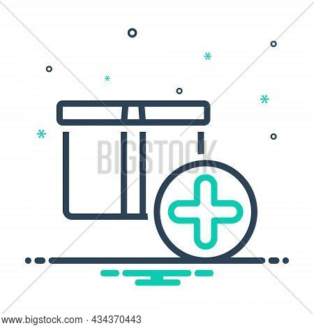 Mix Icon For Item Box Object Commodity Thing Groceries Shop Element Product Daily-use-item