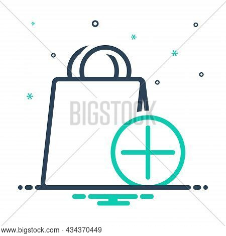 Mix Icon For Item Object Commodity Thing Groceries Shop Element Product Shopping-bag Daily-use-item