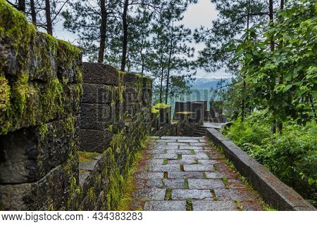 South Great Wall of China near ancient town Fenghuang - Hunan China - travel and architecture background