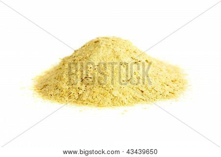 Nutritional yeast natural source of vitamin B. Saccharomyces cerevisiae. poster