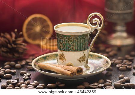 Mocha In Old Oriental Cup