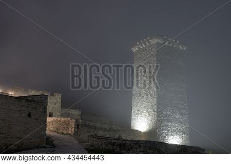 Tower In Khoy Village. Chechnya, Russia, Caucasus