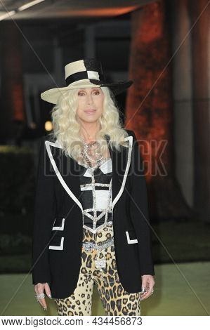 Cher at the Academy Museum of Motion Pictures Opening Gala held at the Academy Museum of Motion Pictures in Los Angeles, USA on September 25, 2021.