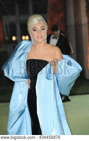 Lady Gaga at the Academy Museum of Motion Pictures Opening Gala held at the Academy Museum of Motion Pictures in Los Angeles, USA on September 25, 2021.
