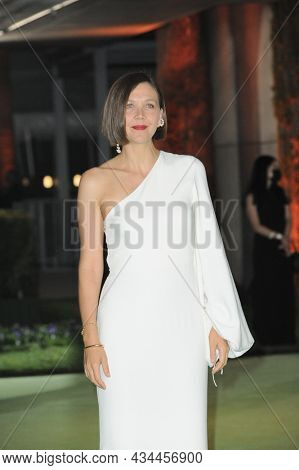 Maggie Gyllenhaal at the Academy Museum of Motion Pictures Opening Gala held at the Academy Museum of Motion Pictures in Los Angeles, USA on September 25, 2021.