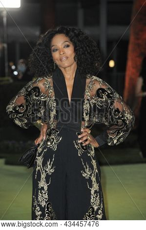 Angela Bassett at the Academy Museum of Motion Pictures Opening Gala held at the Academy Museum of Motion Pictures in Los Angeles, USA on September 25, 2021.