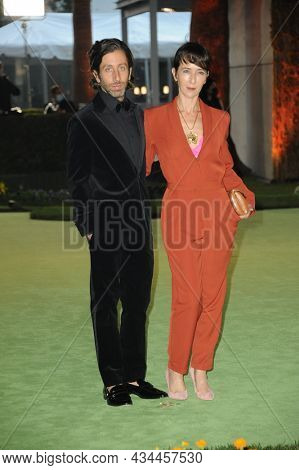 Simon Helberg and Jocelyn Towne at the Academy Museum of Motion Pictures Opening Gala held at the Academy Museum of Motion Pictures in Los Angeles, USA on September 25, 2021.