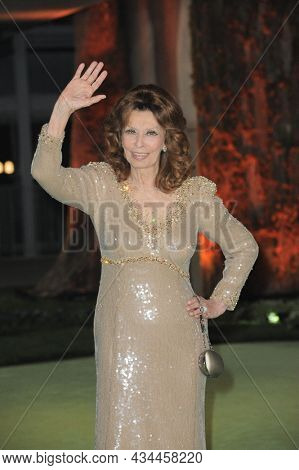Sophia Loren at the Academy Museum of Motion Pictures Opening Gala held at the Academy Museum of Motion Pictures in Los Angeles, USA on September 25, 2021.