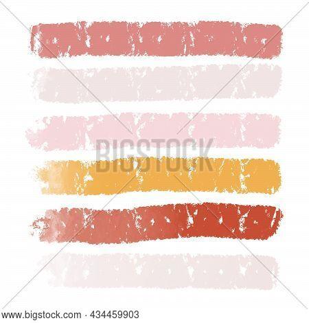 Background Strip Pastel Colors Basis Postcard Lettering, Copy Space