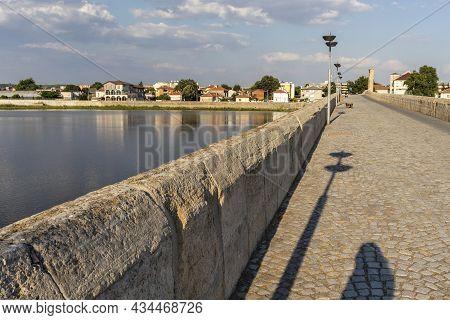 Mustafa Pasha Bridge Over Maritsa River In Svilengrad,  Bulgaria