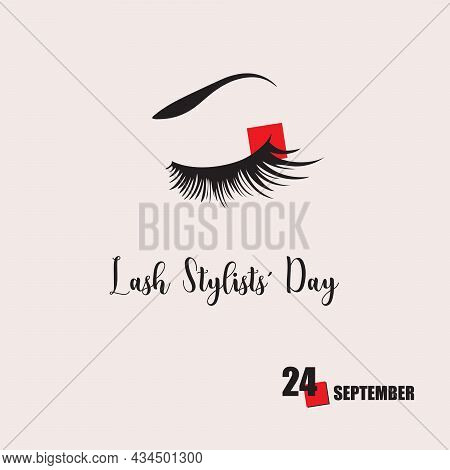 The Calendar Event Is Celebrated In September - Lash Stylists Day