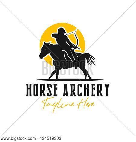 Horse Archer Inspiration Illustration Logo Design Your Company