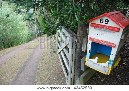 Old Mailbox Rural Area