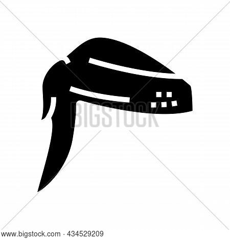 Wing 2 Joint Chicken Glyph Icon Vector. Wing 2 Joint Chicken Sign. Isolated Contour Symbol Black Ill