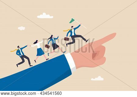 Leadership To Lead Team Members, Business Direction To Achieve Goal Or Target, Teamwork To Success I