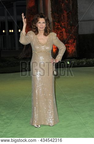 Sophia Loren at the Academy Museum of Motion Pictures Opening Gala held in Los Angeles, USA on September 25, 2021.