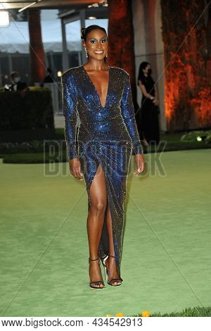 Issa Rae at the Academy Museum of Motion Pictures Opening Gala held in Los Angeles, USA on September 25, 2021.
