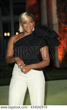 Tiffany Haddish at the Academy Museum of Motion Pictures Opening Gala held in Los Angeles, USA on September 25, 2021.