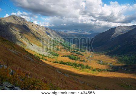 Mountains Landscape.