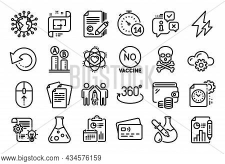 Vector Set Of Swipe Up, Project Deadline And Partnership Line Icons Set. Calendar Report, Money Wall