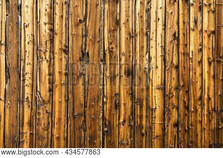 Old Weathered Vertical Barn Wood Siding Background