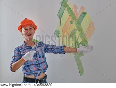 Crazy Foreman Trying Colors For The Walls