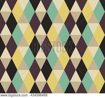 Background Plaid Pattern Seamless. Retro Color Tartan. Texture Design For Apparel, Textile, Garment,