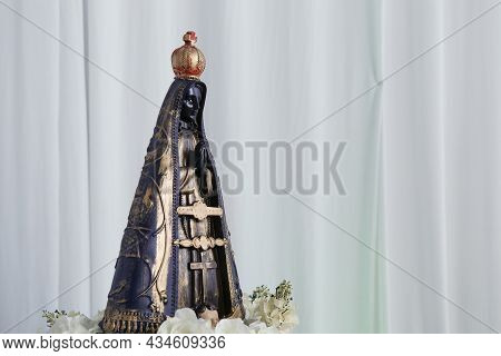 Statue Of The Image Of Our Lady Of Aparecida,