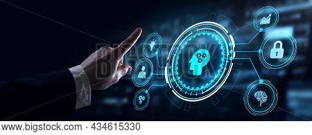 Business, Technology, Internet And Network Concept. E-learning Education. Internet Technology Webina